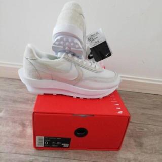27.5cm Sacai × Nike LD Waffle BV0073-101(スニーカー)