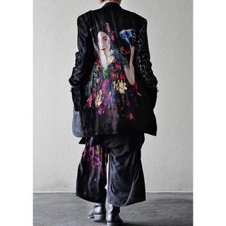 ヨウジヤマモト(Yohji Yamamoto)の期間限定 19ss 自撮りベルベット フラシポケットジャケット ヨウジヤマモト(テーラードジャケット)