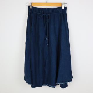 フォーティーファイブアールピーエム(45rpm)のパラスパレス インディゴスカート(ロングスカート)