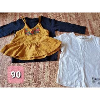 フタフタ(futafuta)の90サイズ 3点セット 秋冬 女の子(Tシャツ/カットソー)