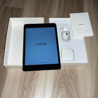 iPad - au iPadmini4 Wi-Fi+Cellular MK762J/A グレー