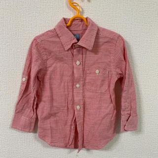 ギャップ(GAP)のbabyGAP チェックシャツ  90(ブラウス)
