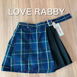 JENNI - 新品タグ付き130インナー付きスカートLOVE RABBY