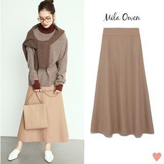 Mila Owen - CLASSY掲載 ☆ Mila Owen 2019AW ロングフレアスカート