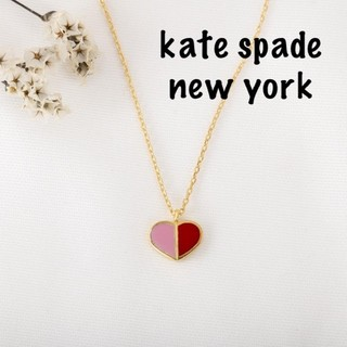 kate spade new york - 【新品♠本物】ケイトスペード ヘリテージネックレス バイカラー