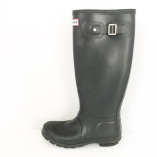 ハンター(HUNTER)のハンター レインブーツ 5 レディース 黒(レインブーツ/長靴)
