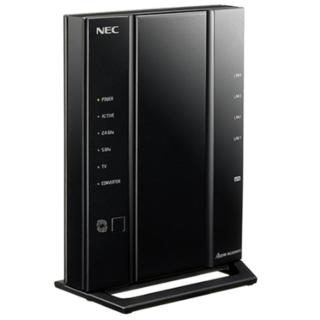 エヌイーシー(NEC)の新品未使用Aterm WG2600HP3 PA-WG2600HP3(PC周辺機器)
