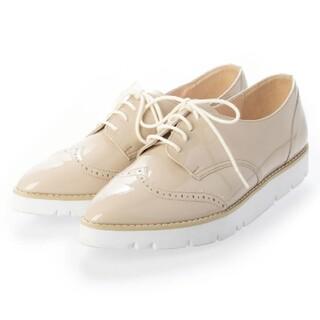 ダイアナ(DIANA)のDIANA エナメル パテントシューズ 21.5(ローファー/革靴)