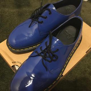 7922d6a1f5df1f ドクターマーチン(Dr.Martens)のドクターマーチン ショートブーツ ブルー(ブーツ)