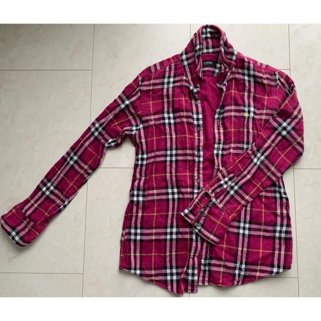 BURBERRY(バーバリー)の【メンズ】バーバリー ネルシャツ Mサイズ メンズのトップス(シャツ)の商品写真