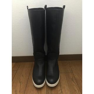 アナザーエディション(ANOTHER EDITION)のアナザーエディション ジョッキーブーツ 黒(ブーツ)