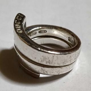 グッチ(Gucci)の8号 グッチ スネーク シルバー リング silver925 メンズ レディース(リング(指輪))