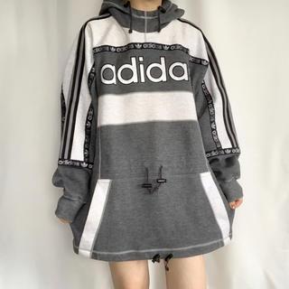 adidas - adidas 90s デサント製 ビッグスウェット