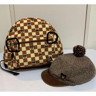 DOUBLE.B - ダブルビー  リュック&帽子