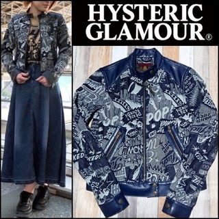 HYSTERIC GLAMOUR - 定価35200円❇️HYSTERIC GLAMOUR 総柄ジャケット