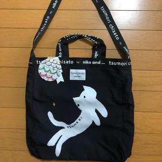 ツモリチサト(TSUMORI CHISATO)のniko and… ニコアンド ツモリチサト  コラボトートバッグ ネコ柄(トートバッグ)