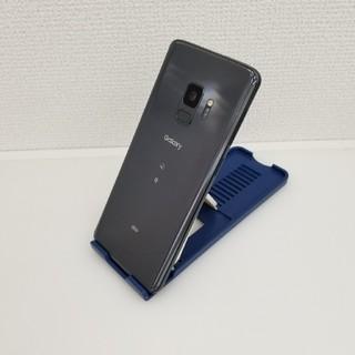SAMSUNG - 601 au SIMロック解除済 SCV38 Galaxy S9 ジャンク