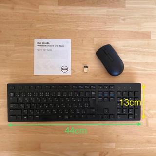 デル(DELL)の【匿名配送】DELLワイヤレスキーボード&マウス(PC周辺機器)