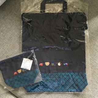 familiar - 新品 ファミリア  布バッグとコップ袋