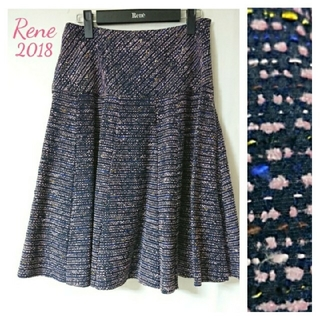 René - *!★Reneルネ★*2018完売大人気ツイードスカート