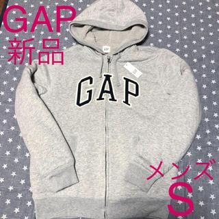 GAP - 【新品未使用】GAP メンズ 内ボアパーカー ライトグレー S