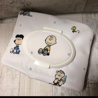 【再販】 ジェラートピケ おしりふきポーチ/除菌シートポーチ