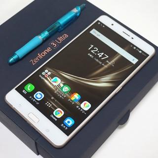 ASUS - 巨大スマホ SIMフリー 64GB ASUS ZenFone3 Ultra