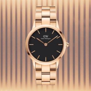 安心保証付!最新作【36㎜】ダニエル ウェリントン腕時計 Iconic Link