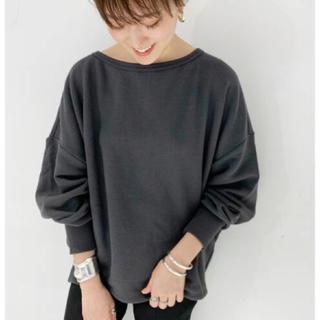 Plage - プラージュ 【R'IAM】フェミニン裏毛プルオーバー 美品