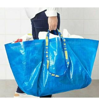 IKEA - 最安値♪IKEA 整理やショッピングバッグ/フラクタ/ブルーバッグ/Lサイズ1枚