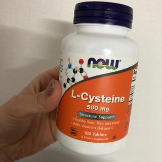 新品 L-Cysteine Lシステイン 500mg 100粒 ナウフーズ