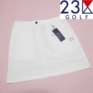 ニジュウサンク(23区)の【新品タグ付き】23区ゴルフ スカート レディース67(ウエア)