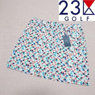 ニジュウサンク(23区)の【新品タグ付き】23区ゴルフ スカート レディース61(ウエア)