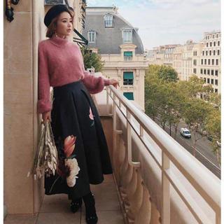 eimy istoire - edenFlowerタックフレアスカート