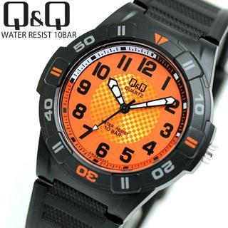 CITIZEN - CITIZEN Q&Q チープ シチズン ウォッチ ラバーバンド メンズ 腕時計
