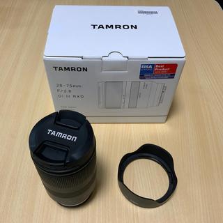タムロン(TAMRON)のタムロン 28−75mm F2.8 A036 高品質マルミ製フィルター付(レンズ(ズーム))
