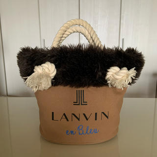 ランバンオンブルー(LANVIN en Bleu)のランバン オンブルー トートバッグ(トートバッグ)