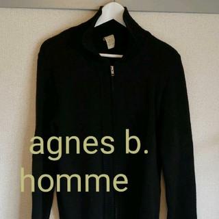 アニエスベー(agnes b.)のagnes b.homme ZIPアップWOOLジャケット(スウェット)