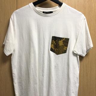 ビームス(BEAMS)のメンズ 白Tシャツ Mサイズ BEAMS(Tシャツ/カットソー(半袖/袖なし))