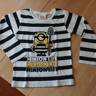 ミニオン(ミニオン)のミニオンの大きなワッペン Tシャツ 140(Tシャツ/カットソー)