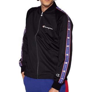 チャンピオン(Champion)のチャンピオン フルジップジャケット C3-P603 メンズ Mサイズ ブラック(ナイロンジャケット)
