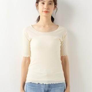 IENA - Baserange Pama 3/4 Rib カットソー トップス Tシャツ