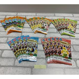 任天堂 - 新品未開封 合計25パックセット どうぶつの森 amiiboカード ①