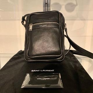 サンローラン(Saint Laurent)の即購入〇 新品 サンローラン ショルダー バッグ サコッシュ ブラック レザー(ショルダーバッグ)