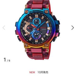 ジーショック(G-SHOCK)のMTG-B1000VL-4AJR G-SHOCK MT-G レインボー火山雷(腕時計(アナログ))