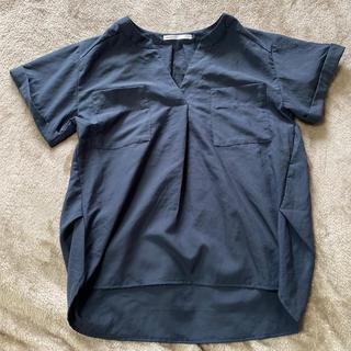 イッカ(ikka)のikka カットソー ネイビー (カットソー(半袖/袖なし))