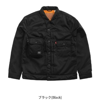 PORTER - Levi's® TypeⅡ Trucker Jacket Lサイズ ブラック