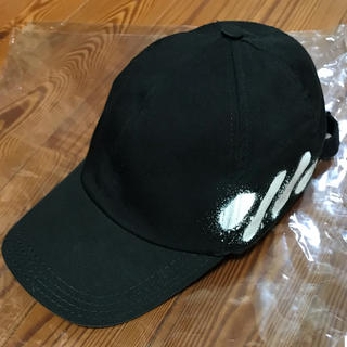 オフホワイト(OFF-WHITE)のoff-white オフホワイト キャップ 帽子(キャップ)