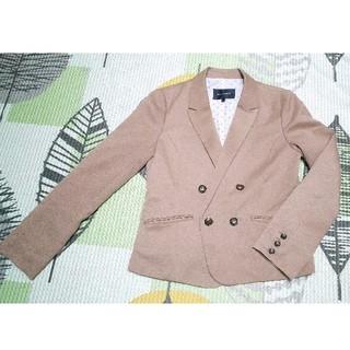 ハニーズ(HONEYS)の茶色 ジャケット GLACIER L ハニーズ(テーラードジャケット)