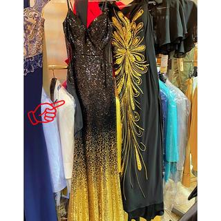 デイジーストア(dazzy store)のスパンコールグラデーション ドレス パーティー キャバクラ マーメイドドレス (ロングドレス)